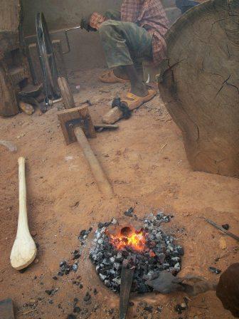 Soufflerie manuelle